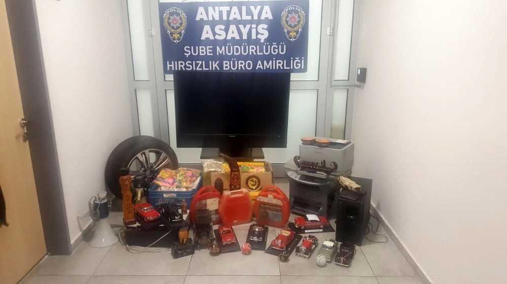 İş yerinden 250 bin TL değerinde malzeme çalan şüpheliler tutuklandı