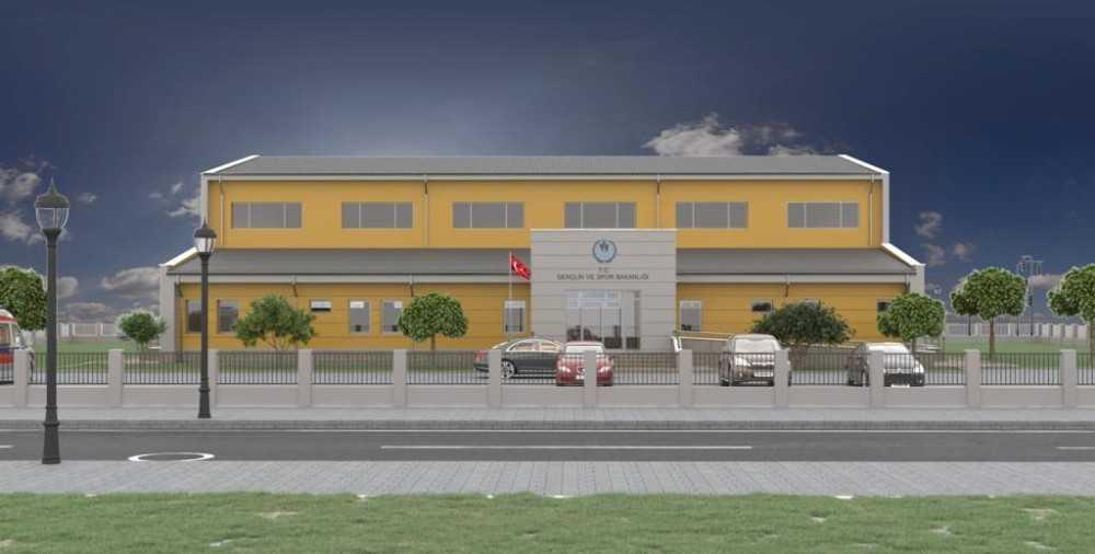 Kepez'e yeni spor tesisi