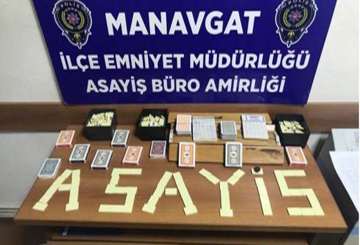 Kumar baskınına 57 bin lira ceza