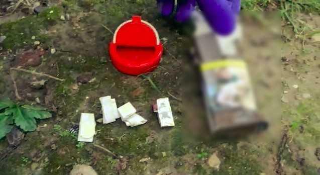 Sobadan ve şeker kutusundan uyuşturucu çıktı