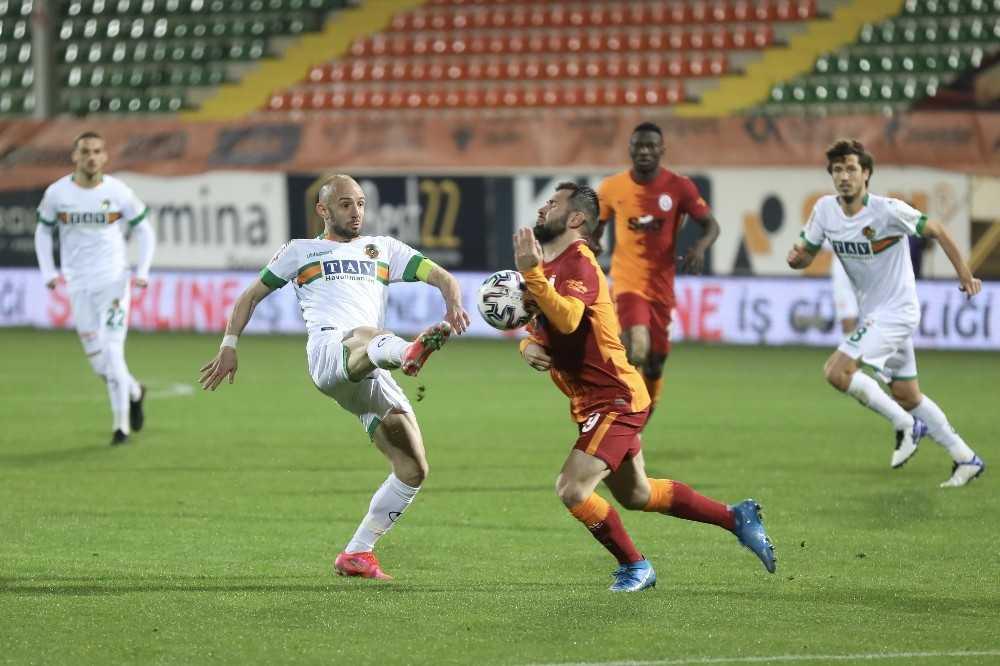 Süper Lig: Aytemiz Alanyaspor: 0 – Galatasaray: 1 (Maç sonucu)