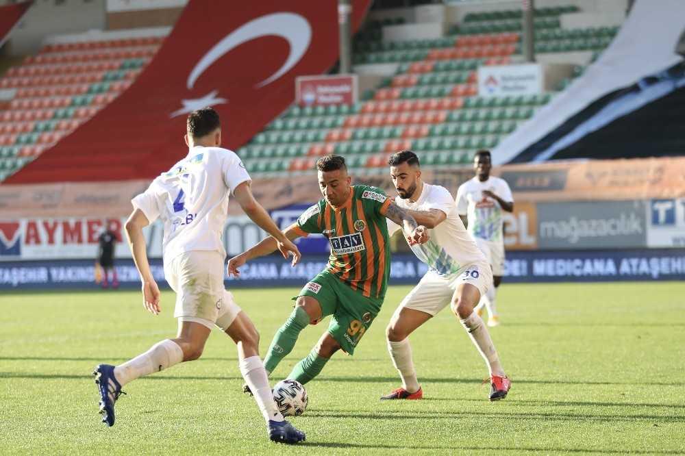 Süper Lig: Aytemiz Alanyaspor: 2 - Çaykur Rizespor: 1 (Maç sonucu)