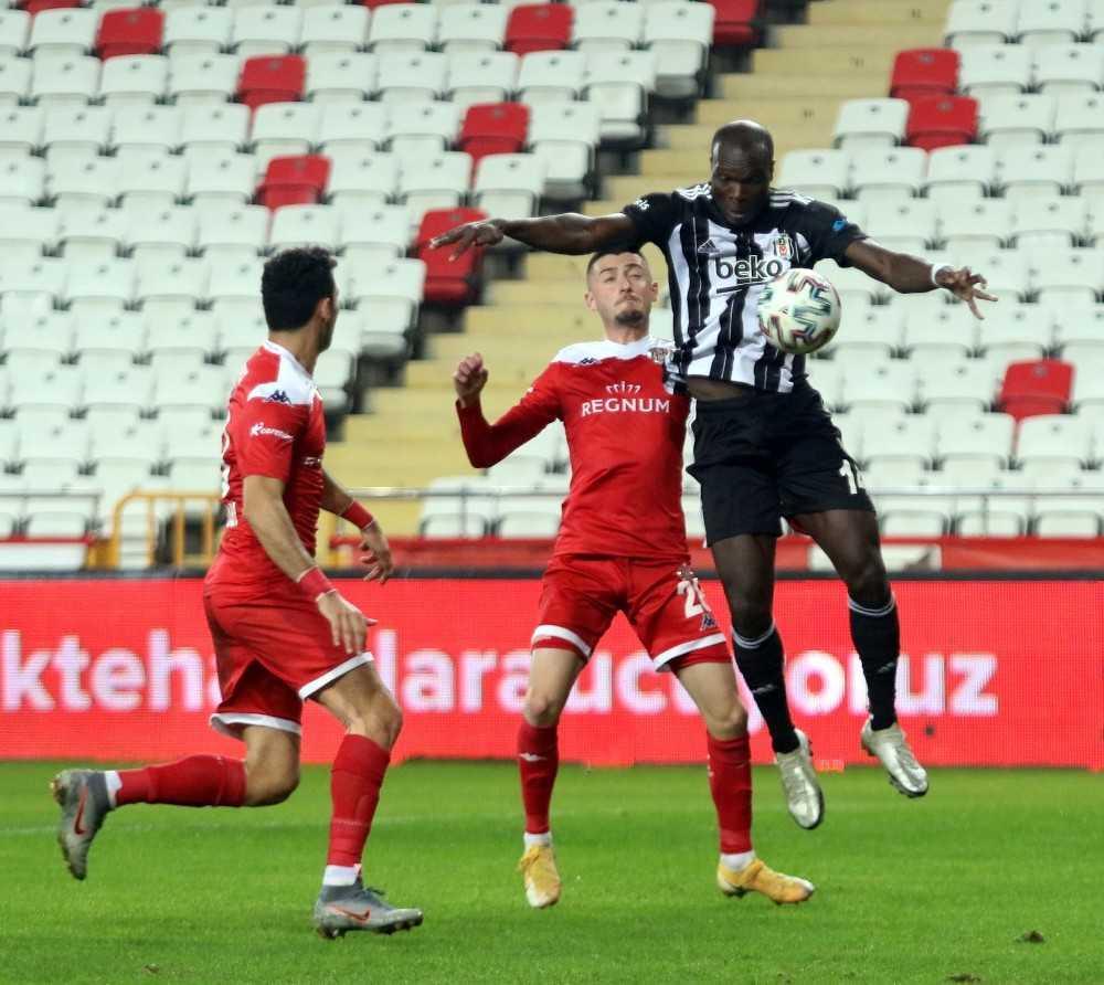 Süper Lig: FT Antalyaspor: 1 – Beşiktaş: 1 (Maç sonucu)