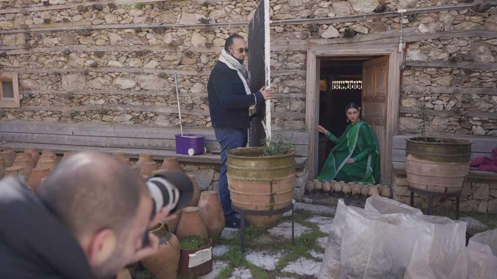 Tarihi düğmeli evler moda merkezi oldu