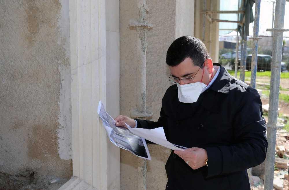 """Tütüncü: """"Bu cami Kepez'deki şehirleşmeyi anlatacak"""""""