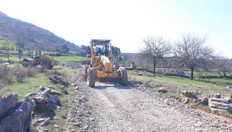 Alanya Belediyesi kırsalda çalışmaları sürdürüyor