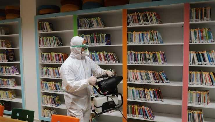 Alanya'da 1 yılda 7 bin 81 dezenfeksiyon işlemi yapıldı