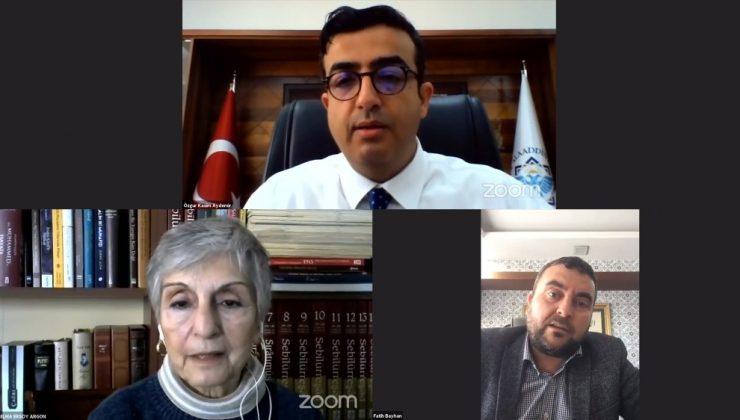 ALKÜ Mehmet Akif Ersoy'un torununu ağırladı