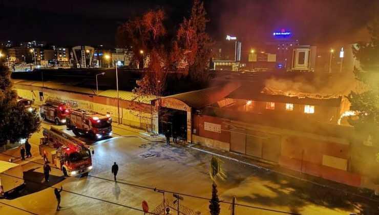 Antalya Festival Çarşısı'nda bir haftada ikinci yangın