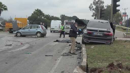 Antalya'daki feci kaza baba oğulu hayattan kopardı: 2 ölü, 3 yaralı