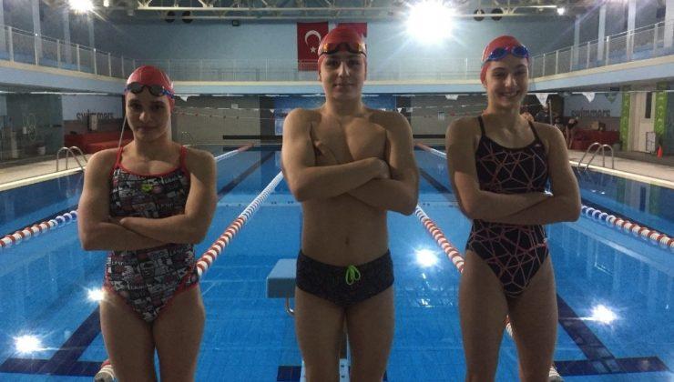 Antalyalı yüzücüler milli takım için kulaç attı