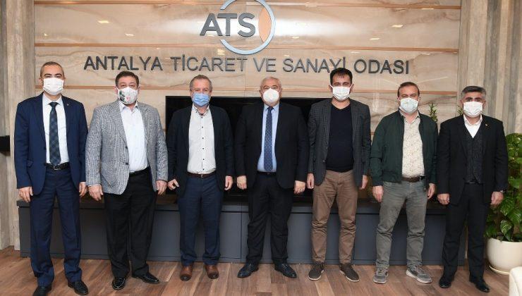 """ATSO Başkanı Çetin: """"Camcılar tedarik sıkıntısı yaşıyor"""""""