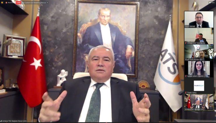 """BAGEV Başkanı Davut Çetin: """"Pandemiden güçlü bir çıkış yapmalıyız"""""""