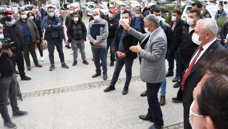 Başkan Topaloğlu'ndan KESDER Başkanına yapılan saldırıya kınama
