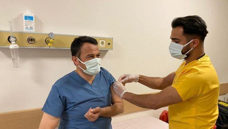 Başkan Ulutaş ikinci doz aşısını oldu