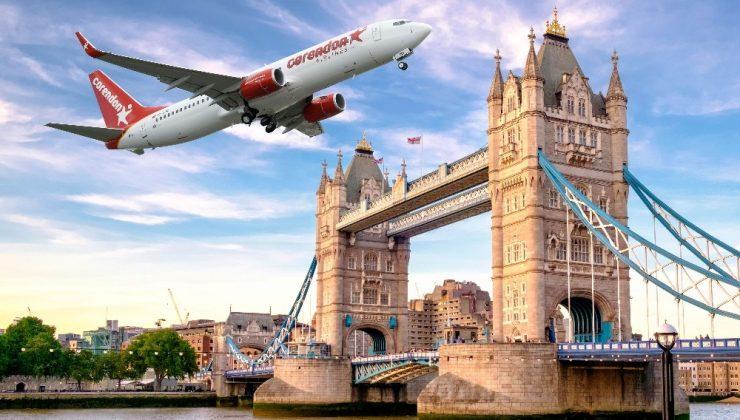 Corendon Airlines 2022 ingiltere uçuşlarını satışa açtı