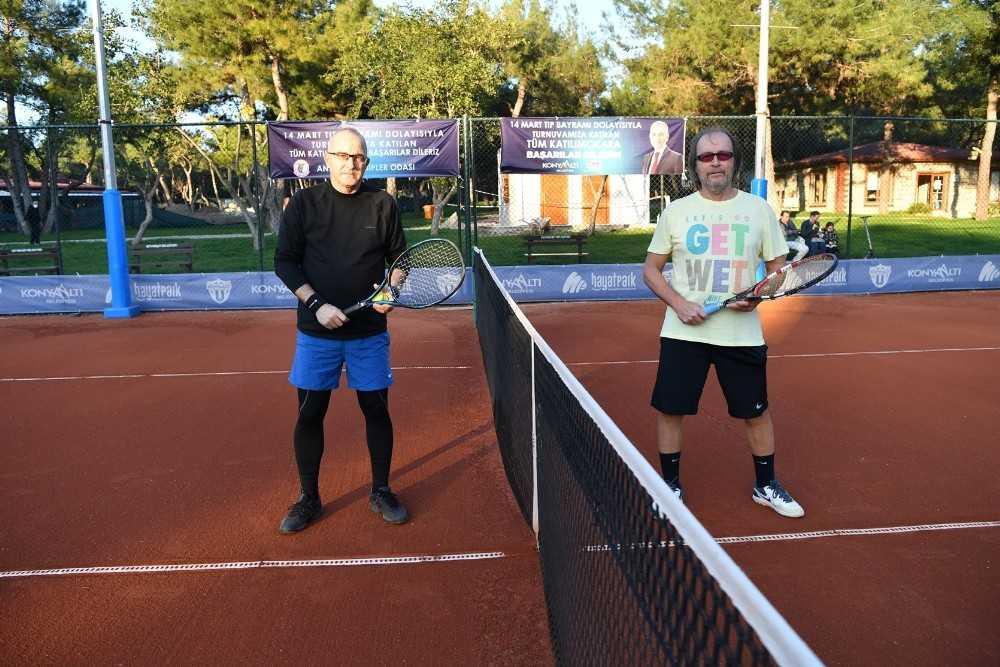 Doktorlar tenis turnuvasında buluştu