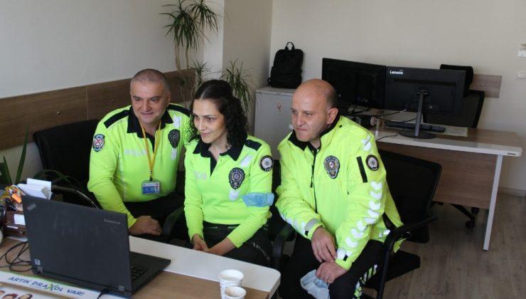 Günde 400 çocuğa online trafik eğitimi