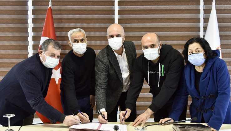 Hak sahipleri arazilerini Antalya OSB'ye devretti