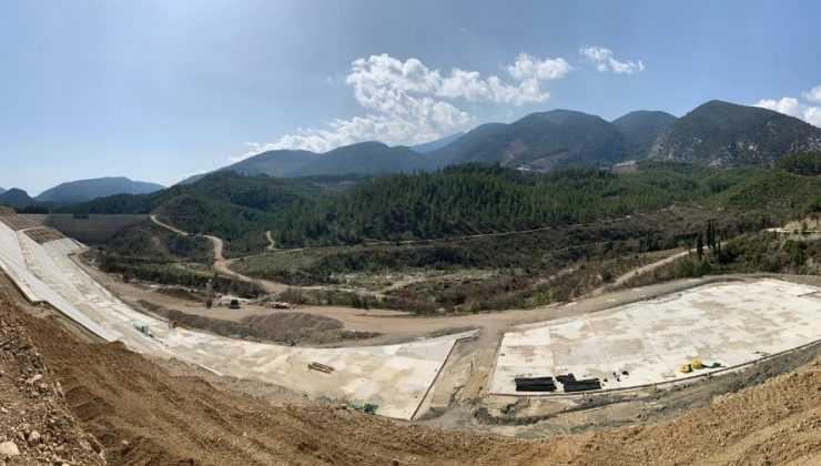 Kapıçay Barajı'nda sona yaklaşıldı