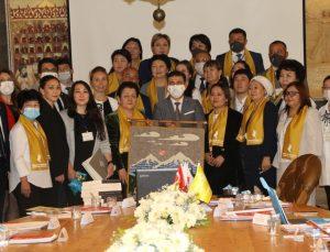 Kazakistan'dan gelen 30 kişilik heyet, Bahçeşehir Koleji ile iş birliği yapmak istiyor