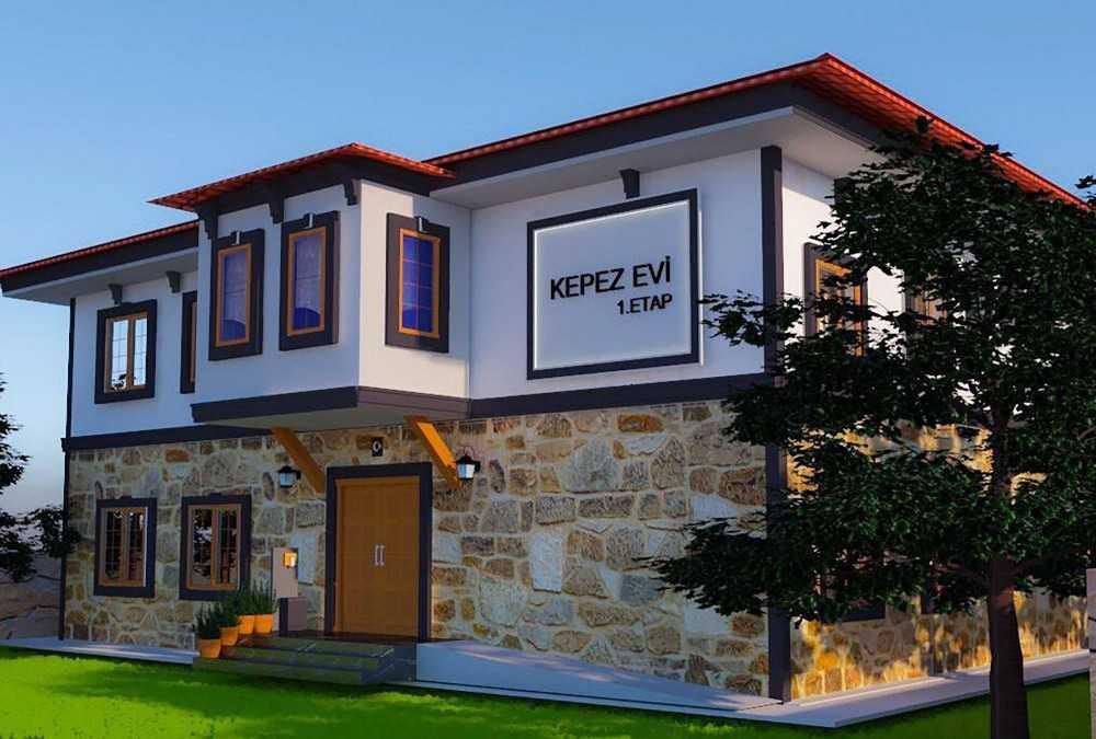 Kepez'e Kaleiçi evi