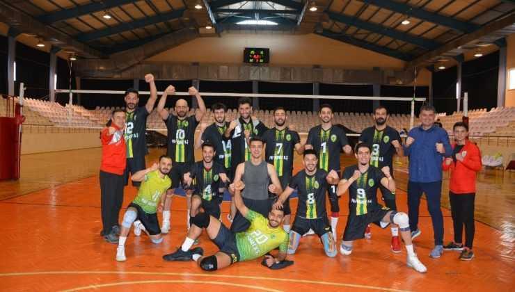Korkuteli Belediyespor, Play-Off'a yükseldi