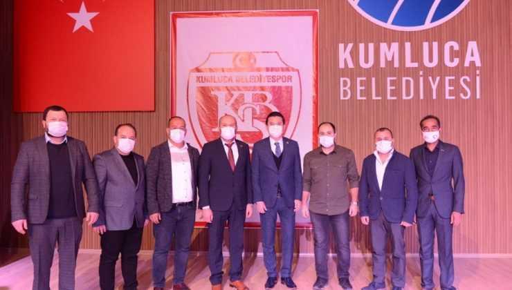 Kumluca Belediyespor'da Ali Okur yeniden başkan