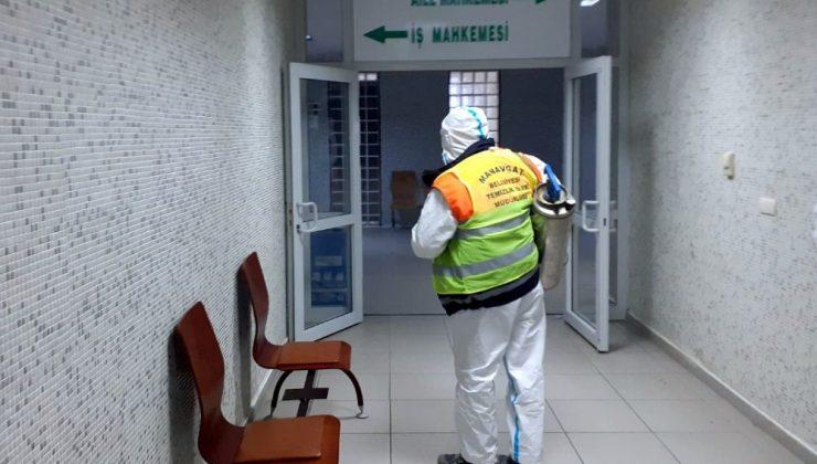 Manavgat'ta pandemi önlemleri arttırıldı