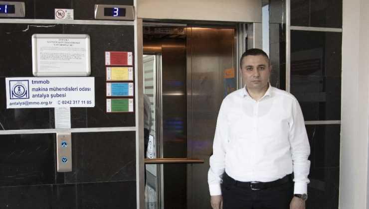 Muratpaşa'da asansörlerin yüzde 97.72' si güvenilir