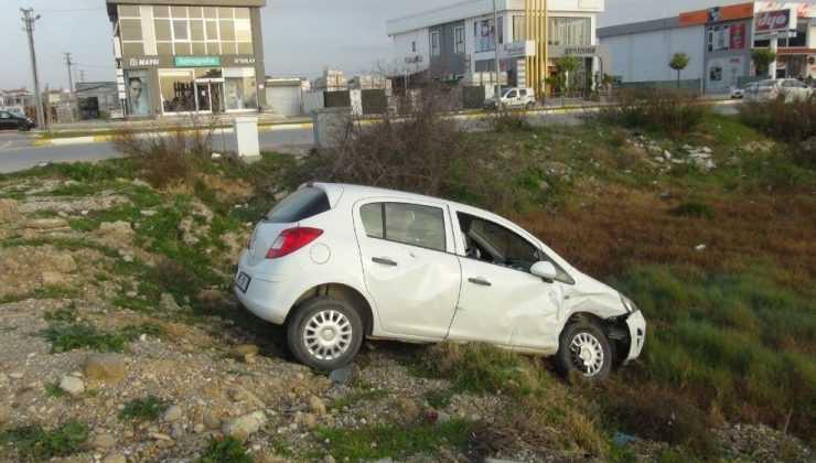 Otomobil ticari araçla çarpıştı: 3 yaralı