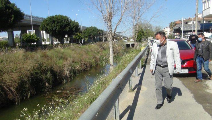 Su kanalına yapılan temiz su takviyesi de balık ölümlerini durduramadı