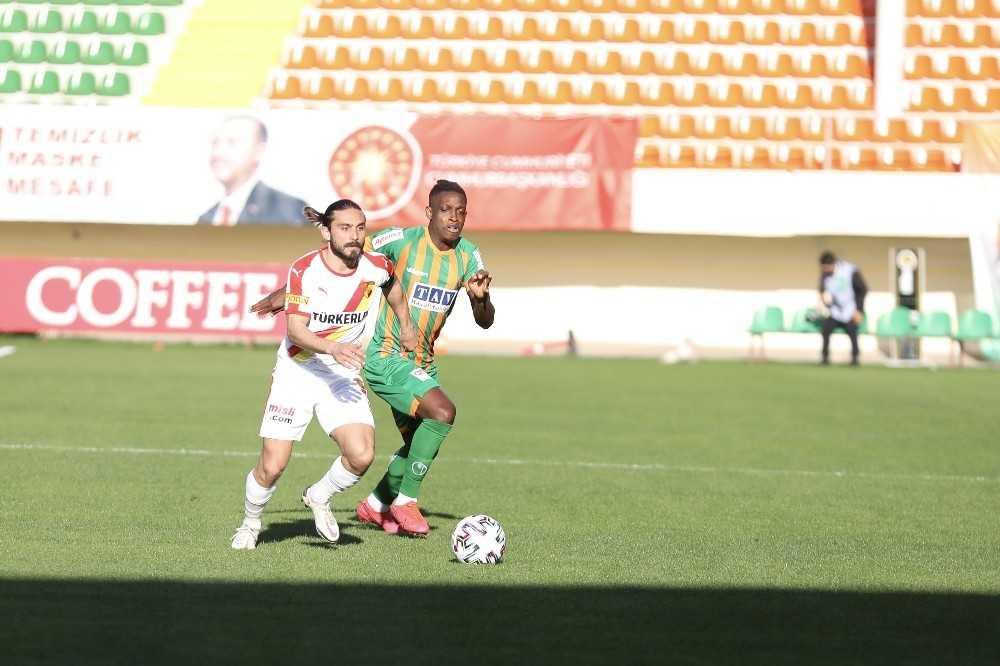Süper Lig: Aytemiz Alanyaspor: 1 – Göztepe: 1 (Maç sonucu)