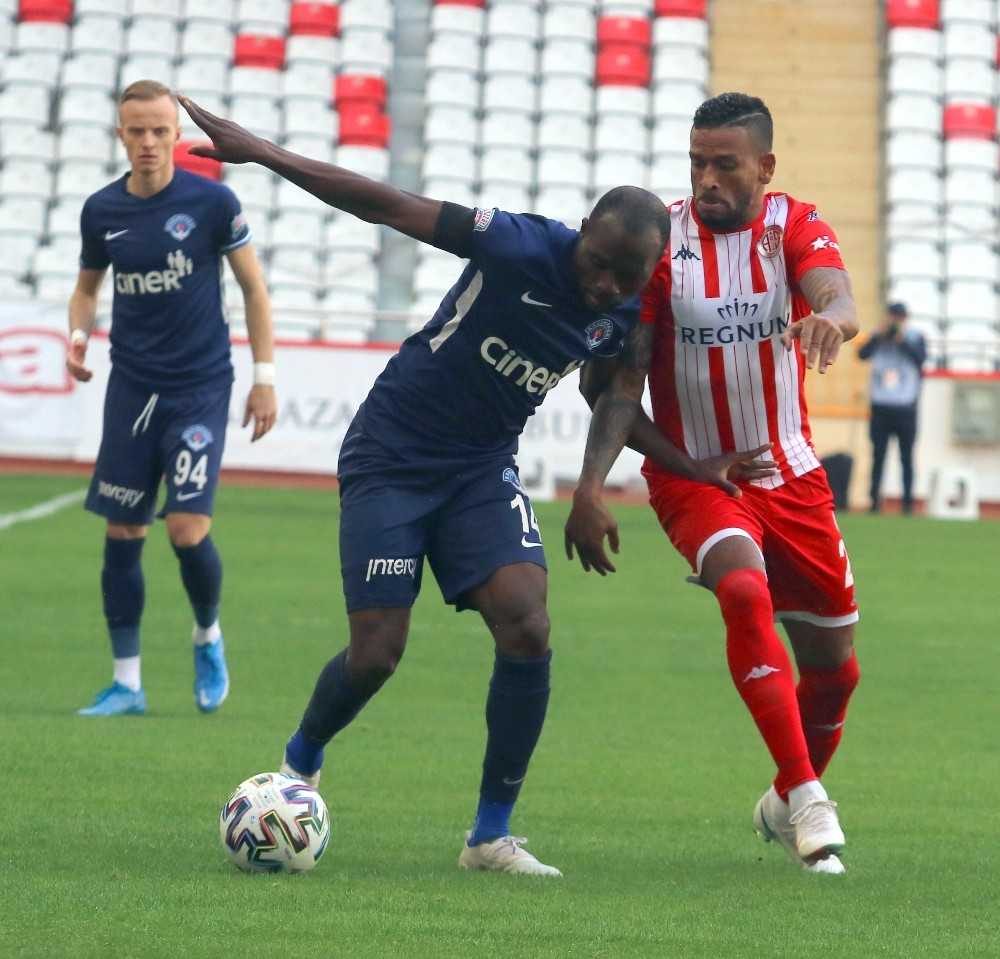 Süper Lig: FT Antalyaspor: 1 - Kasımpaşa: 0 (İlk yarı)