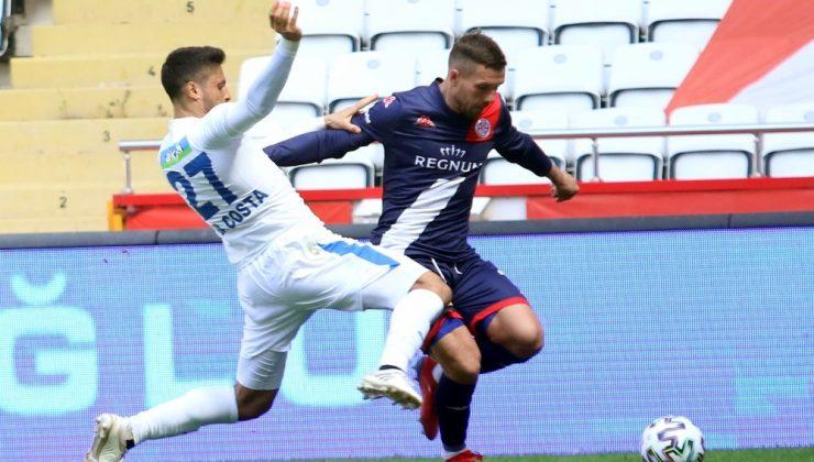 Süper Lig: FT Antalyaspor: 3 – BB Erzurumspor: 1 (Maç sonucu)