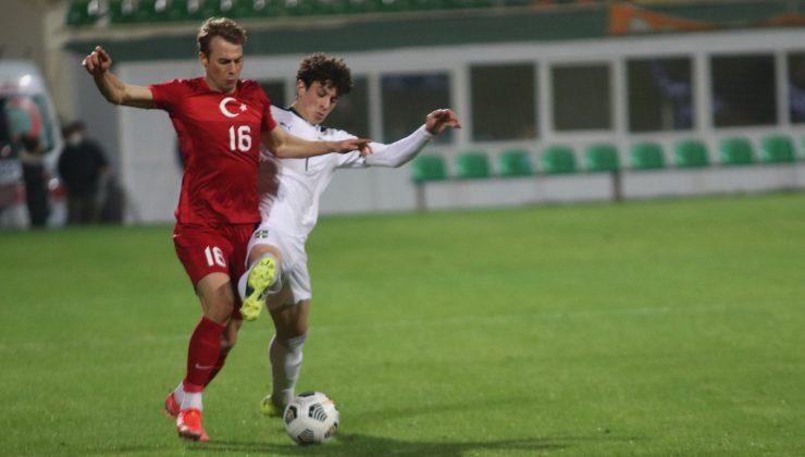 Ümit Milli Takımı Sırbistan'a 1-0 mağlup oldu