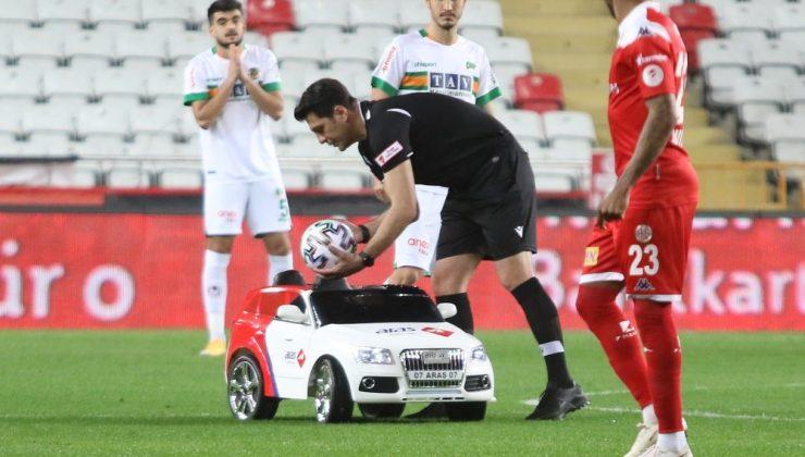 Ziraat Türkiye Kupası: FT Antalyaspor: 1 – Aytemiz Alanyaspor: 0 (İlk yarı)