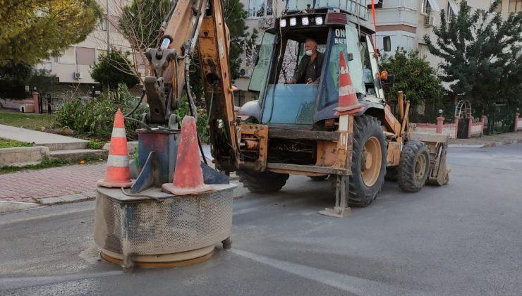 6 bin kanalizasyon kapağı yol seviyesine getiriliyor