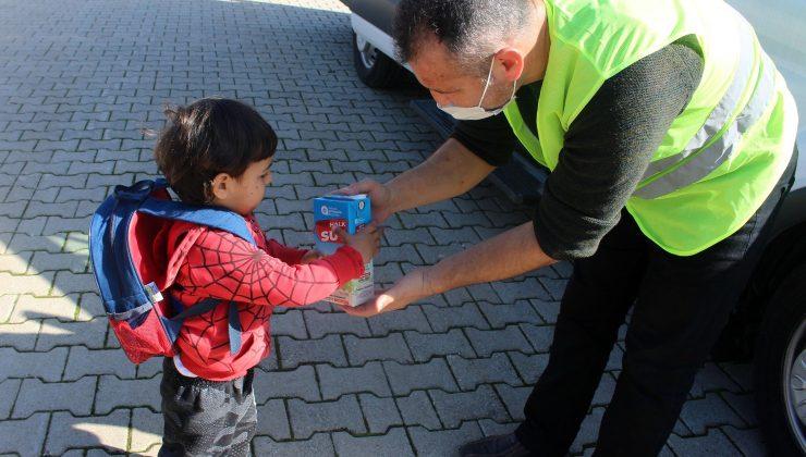 9 ayda 15 bin 613 çocuğa süt ulaştırıldı