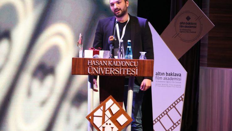 Akdeniz Üniversitesi öğrencisine En İyi Belgesel Film ödülü