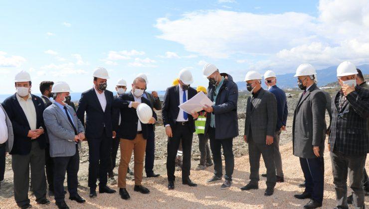 Alanyaspor'un yeni tesisi için sunum yapıldı