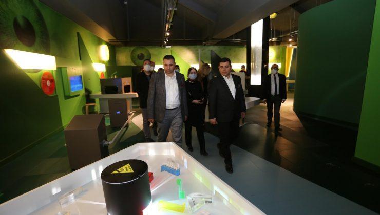 Antalya Bilim Merkezi, makine mühendislerini ağırladı