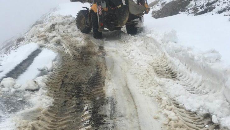 Antalya Büyükşehir Belediyesi'nden karla mücadele çalışması