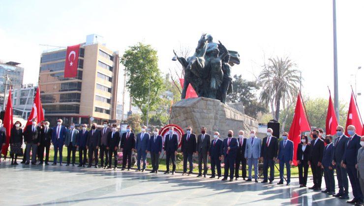 Antalya'da 23 Nisan törenle kutlandı