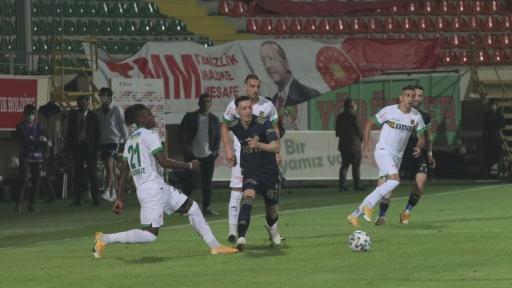 Aytemiz Alanyaspor – Fenerbahçe maçından kareler -1-