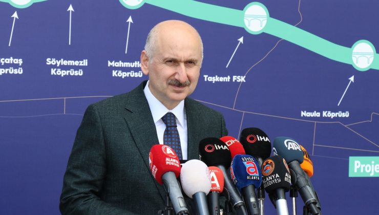 """Bakan Karaismailoğlu: """"Kanal İstanbul'la lojistik iddiamızı denizlerimizde de perçinleyeceğiz"""""""