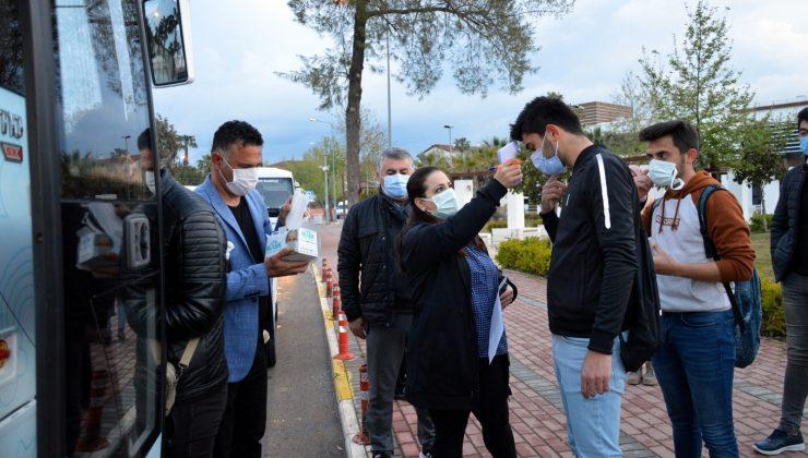 Belediyeden MSB sınavına ücretsiz ulaşım desteği