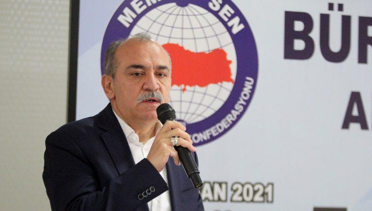 Büro Memur Sen Başkanı Yazgan, Antalya Şubesinin Genel Kuruluna katıldı