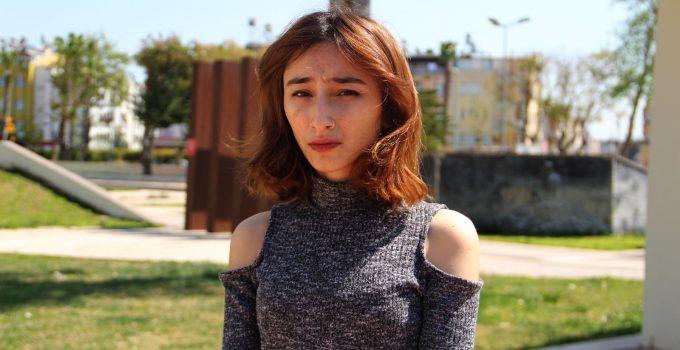 Genç kız ölüm korkusunu gözyaşlarıyla anlattı