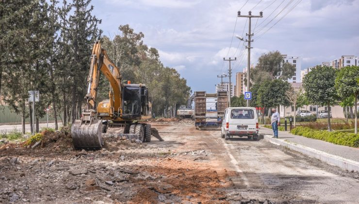 Kepez'de dönüşen mahallelere 4 şeritli yol